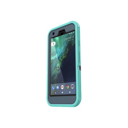 OtterBox Defender Series - Protective case for cell phone - rugged - polycarbonate, synthetic rubber - borealis - for Google Pixel XL