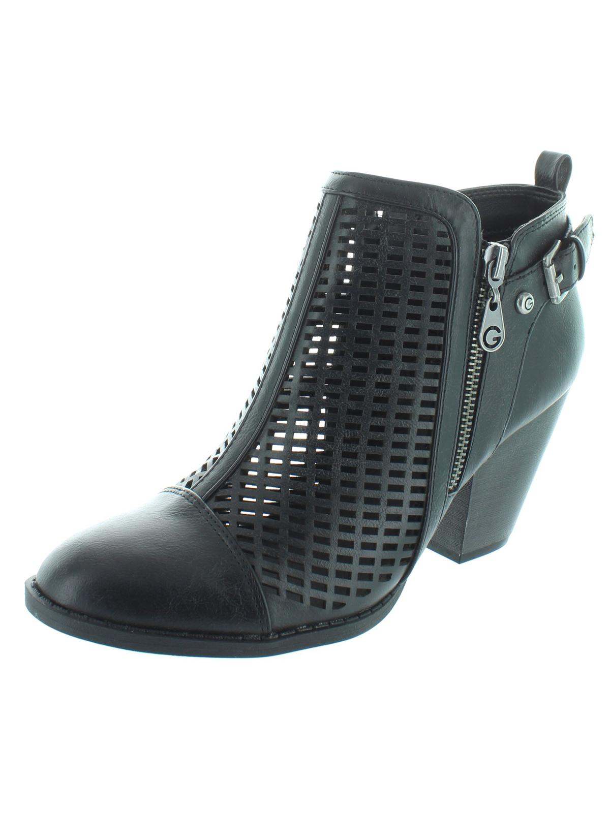 GUESS - Guess Womens Privvy Faux Leather Ankle Booties - Walmart.com 1606797ff46ba