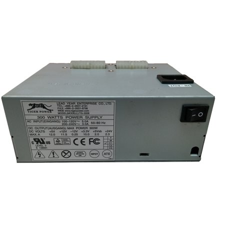 Tiger Lighting Supplies (Refurbished Tiger TG-3008   300W 20 Pin  Power Supply For NCR POS)