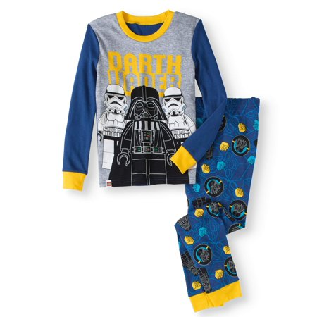 Boy's Star Wars Glow in the Dark 2 Piece Pajama Sleep Set (Big Boys & Little Boys)](Glow Run Outfit Ideas)