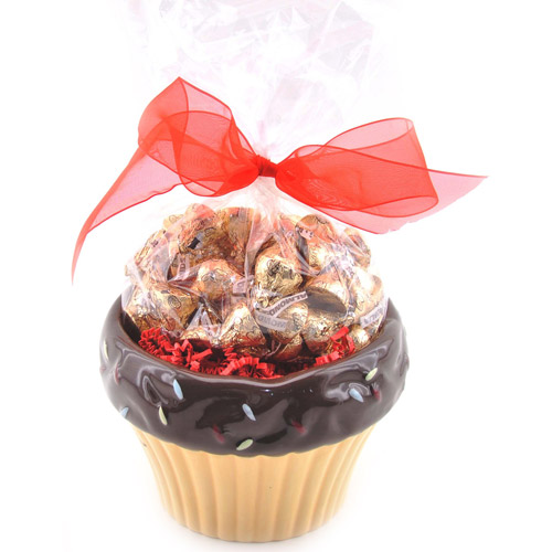 Sweets in Bloom Valentine's Chocolate Cupcake Gift Set