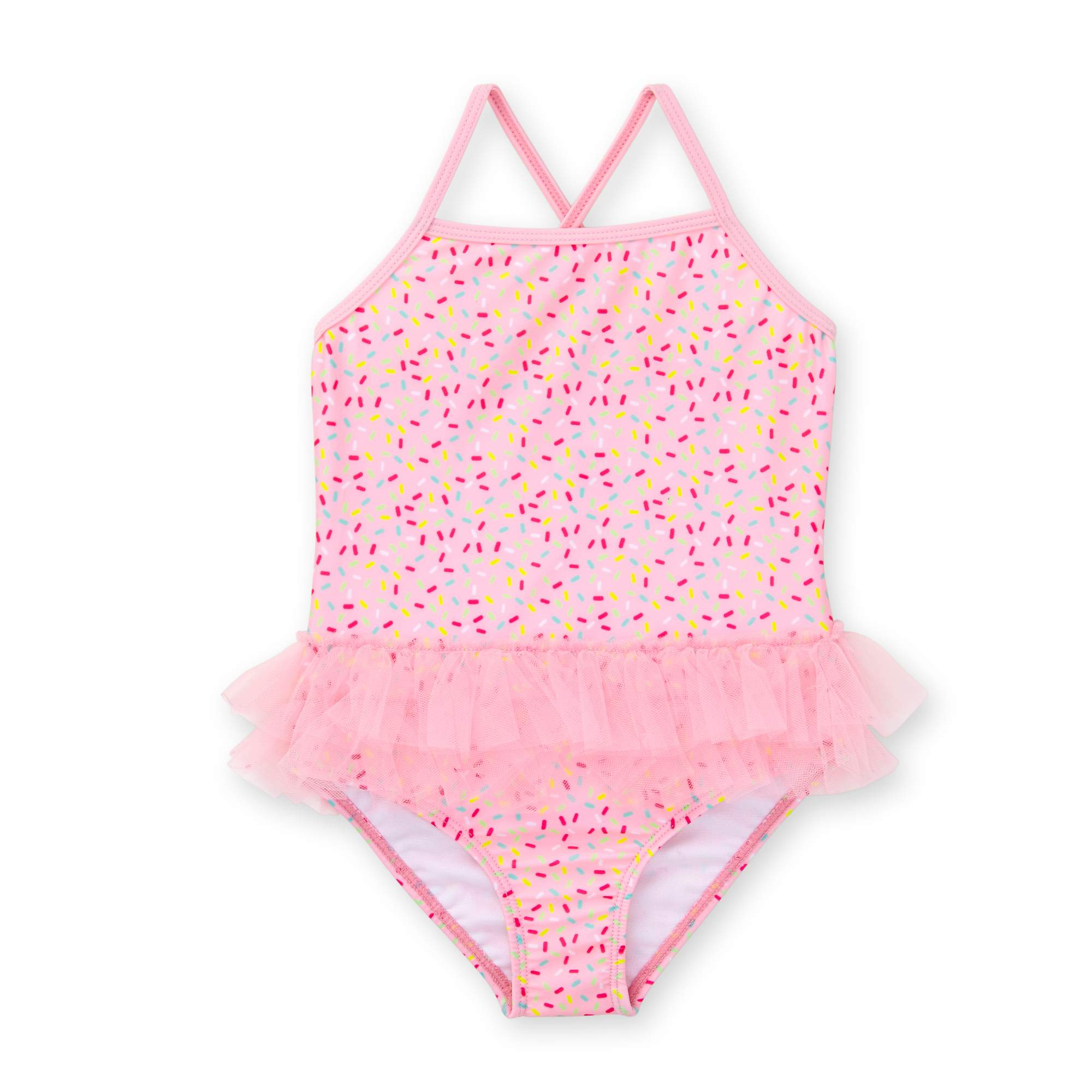 Healthtex Toddler Girl One Piece Tutu Swimsuit