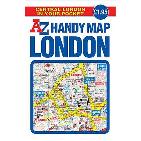Handy Map of Central London - Halloween Central London 2017