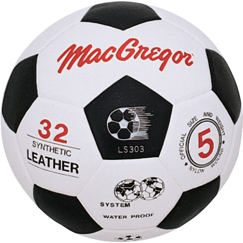 MacGregor Molded Synthetic Soccer Ball, Size 3