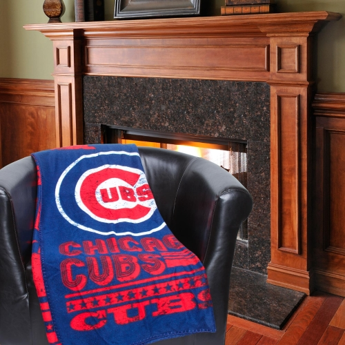 "Chicago Cubs The Northwest Company 50"" x 60"" Strength Fleece Blanket - No Size"