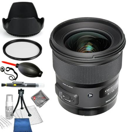 Sigma 24mm f/1.4 DG HSM Art Lens for Canon EF #401-101 Starter