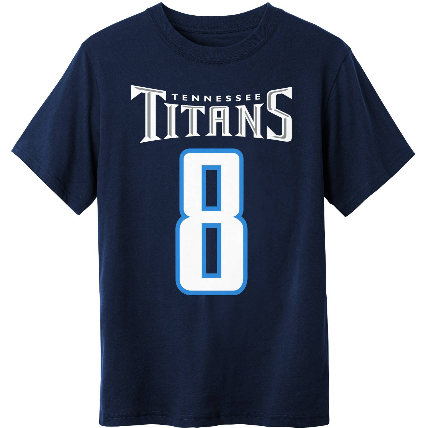 NFL Tennessee Titans Youth Marcus Mariota Tee