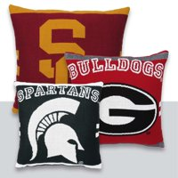 """NCAA University of Louisville 20"""" Square Decorative Woven Pillow by The Northwest Company"""