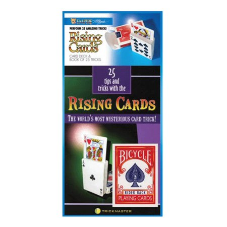 25 Tips and Tricks with a Rising Card Deck - Bicycle Deck and Booklet