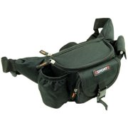 Nylon Fanny Pack Waist Bag with Water Bottle and Cell Phone Pouch 92-868 (C)