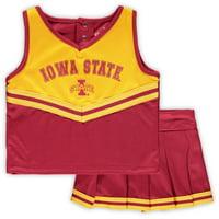 Iowa State Cyclones Colosseum Girls Toddler Pinky Cheer Set - Cardinal