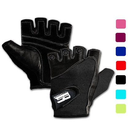 Weight Lifting Gloves For Gym -Gym Gloves Women w/ Washable - Ideal Rowing Gloves,Workout Gloves,Crossfit Gloves - Premium Gloves For Core Fitness Dumbbells & Flexibility Machine Black