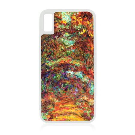 the best attitude c9ba8 60eb7 Artist Monet's Nympheas - Japanese Bridge White Rubber Case for iPhone XR -  iPhone XR Phone Case - iPhone XR Accessories