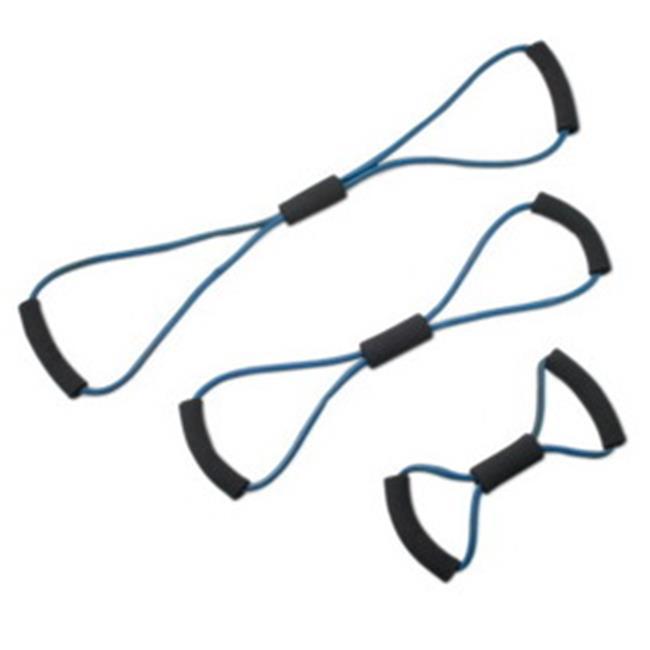 Fabrication Enterprises 10-5834 Cando Bowtie Tubing Exerciser Full Body Set, Blue