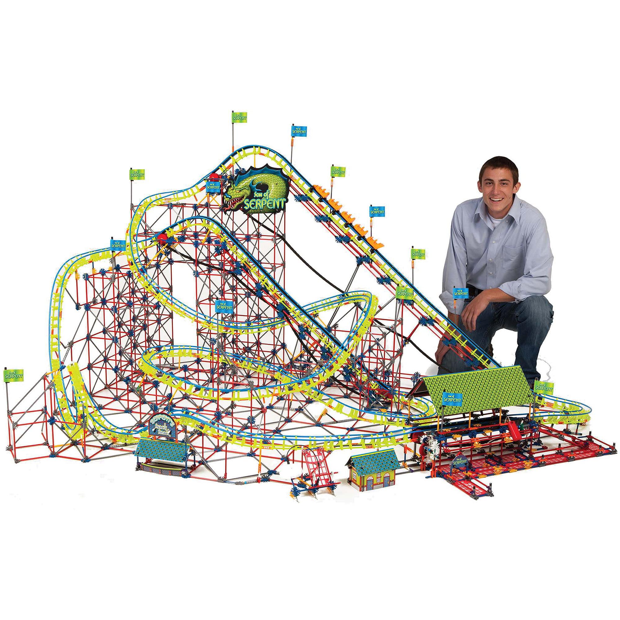 K'NEX Son of Serpent Coaster Building Set