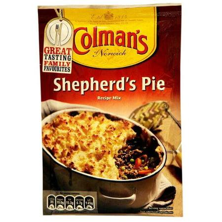 Colman's Shepherds' Pie Mix, 1.76oz (50g)](Halloween Pumpkin Cheesecake Pie)