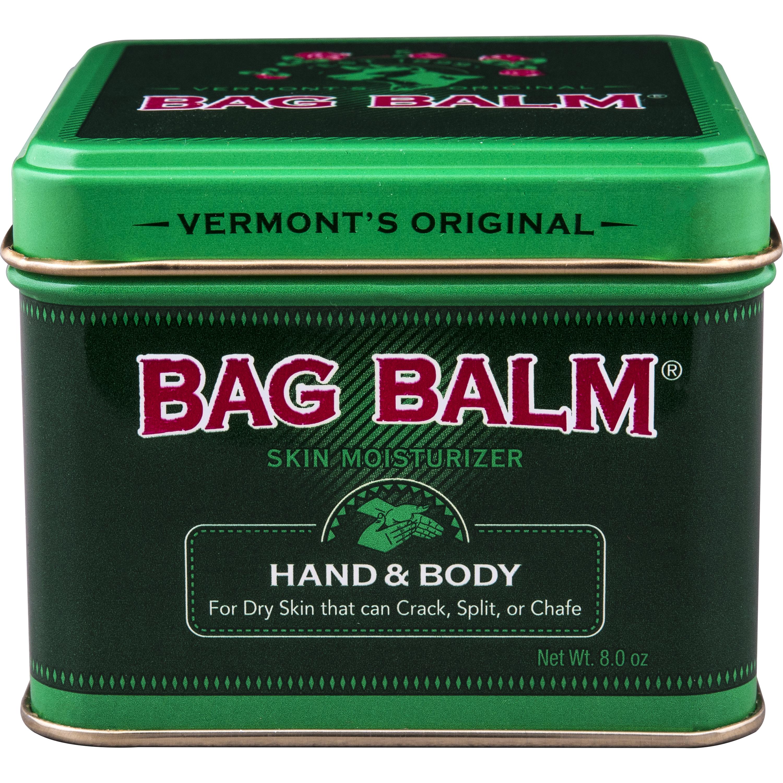 Vermont's Original Bag Balm Skin Moisturizer for Hand & Body, 8 oz.
