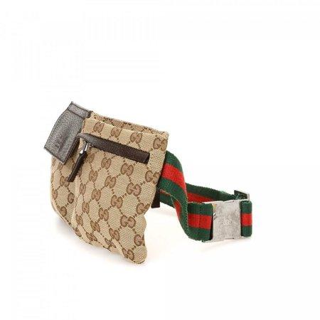 a55176caee5 Gucci - Web Monogram GG Belt Bag Bum Pouch 866356 - Walmart.com
