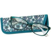 Foster Grant Women's Gwennie Reading Glasses, Blue