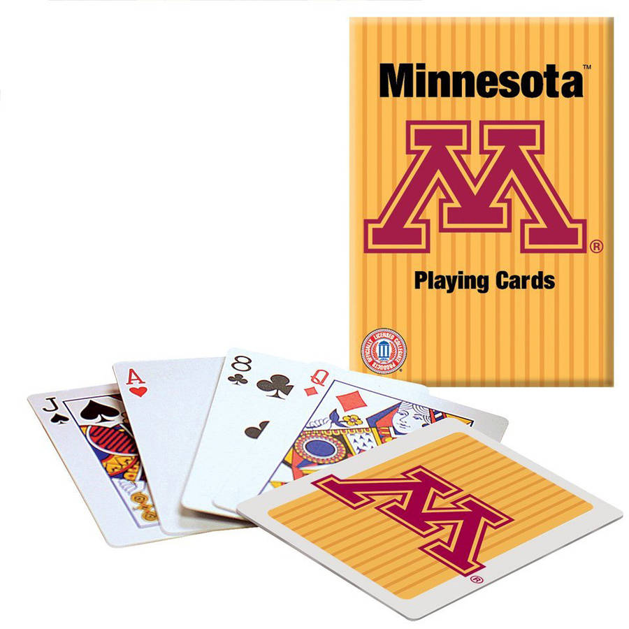 Officially Licensed NCAA Minnesota Playing Cards by PlayMonster