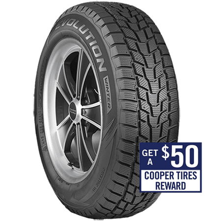 COOPER EVOLUTION WINTER 195/65R15 95T Tire (Best Winter Tires For 2019 Wrx)