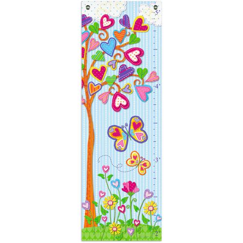 Oopsy Daisy Too Growth Chart, Hearts Tree