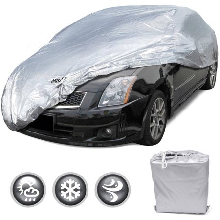 - Motor Trend All Season WeatherWear 1-Poly Layer Snow proof, Water Resistant Car Cover