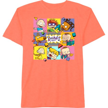 Nickelodeon Rugrats Girls XS-XL Graphic Logo T-Shirt Girl Logo Tank