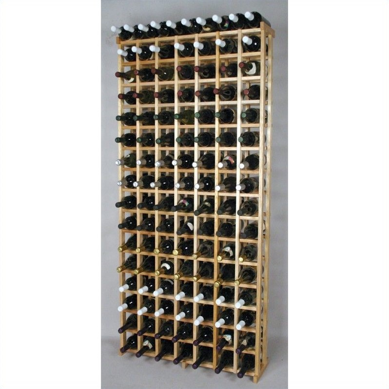 "Wine Cellar Innovations 69"" Redwood Wine Bottle Grid"