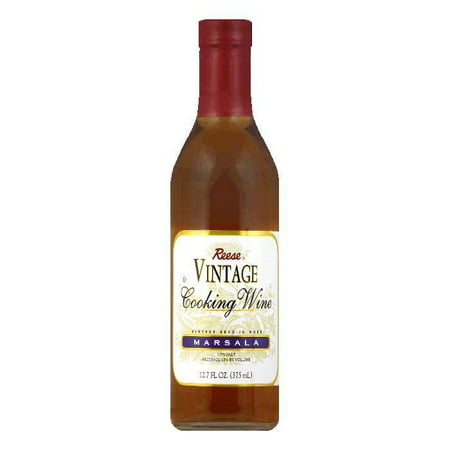 Reese Marsala Cooking Wine, 12.7 FO (Pack of 6) (Marsala Cooking Wine)