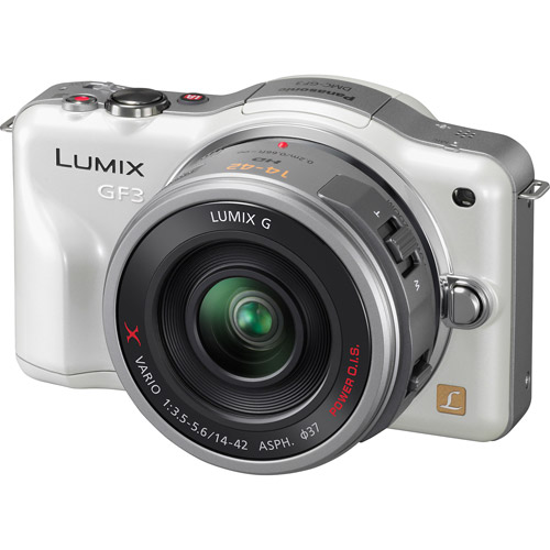 Panasonic Lumix Dmc-gf3 White 12.1mp Dig