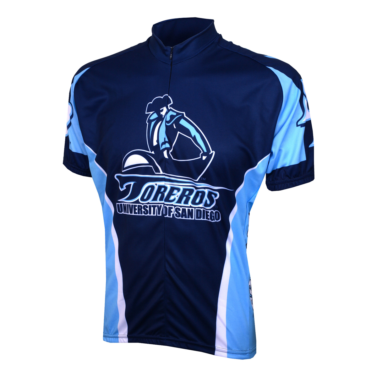 ... wholesale adrenaline promotions university of san diego toreros cycling  jersey walmart bd75e 972ce ... 5c1114f2c