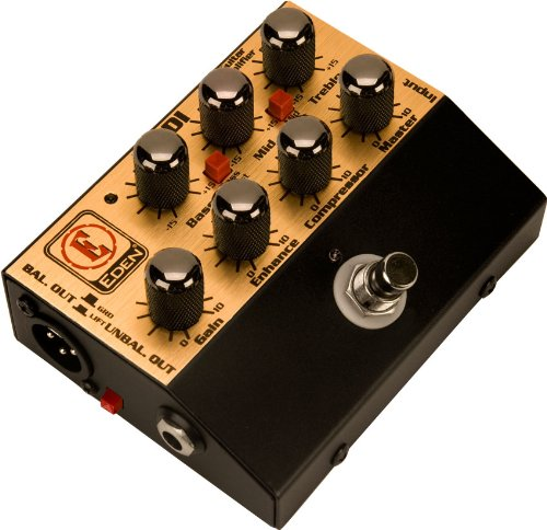 Eden World Tour Direct Box Preamp Pedal USM-WTDI-U Amplifier Accessory by Eden Amplification