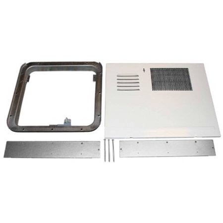 - Suburban 520818 Aluminum Water Heater Door Kit, Polar White