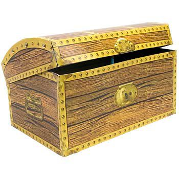 Treasure Chest 3-d Centerpiece (each) - Party Supplies