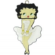 "3.25"" Betty Boop in White Dress and Black Shoes 2 GB USB Flash Drive"
