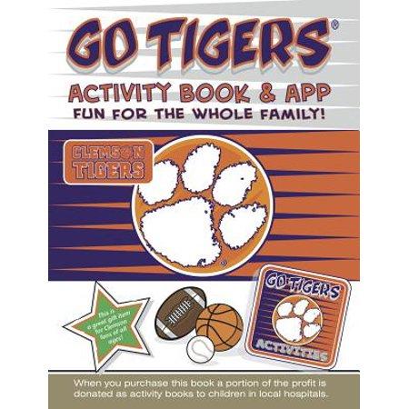 Go Tigers Activity Book & App (Half Tiger Face App)