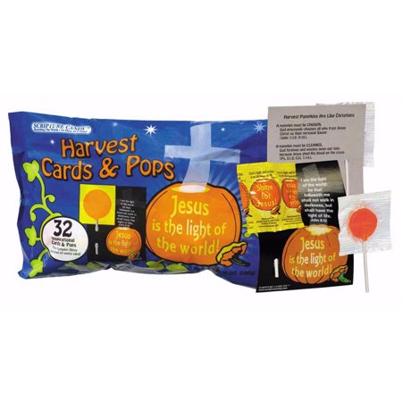 Candy Cars (Candy-Scripture Harvest Cards & Pops (Pack of)