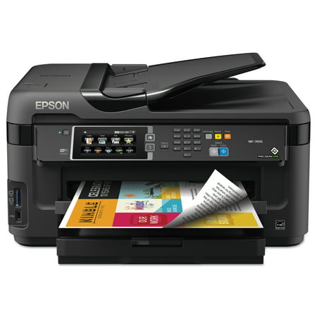 Epson Workforce 7610 Wireless All In One Inkjet Printer  Copy Fax Print Scan