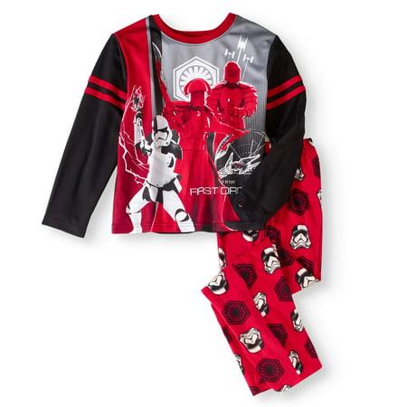Baby Star Wars (Star Wars Boys' Microfleece Pajama 2pc Sleepwear)