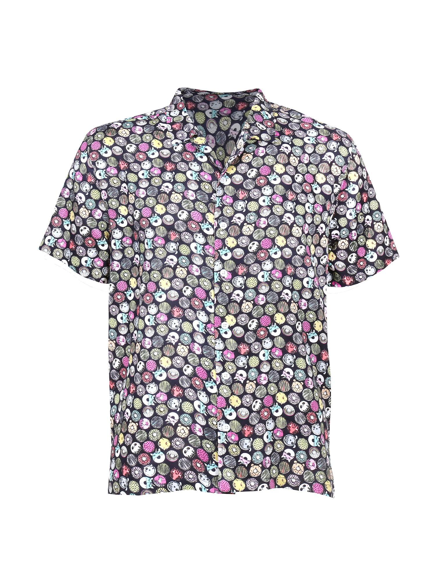 Pool Party Unicorns /& Donuts Men/'s Button Down Short Sleeve Shirt