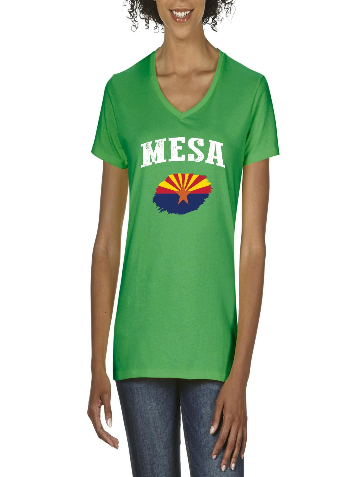 b975e80b3c Normal is Boring - Mesa Arizona Women's V-Neck T-Shirt Tee Clothes -  Walmart.com