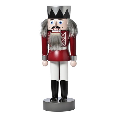 KWO Red King German Wood Christmas Nutcracker Made in Germany