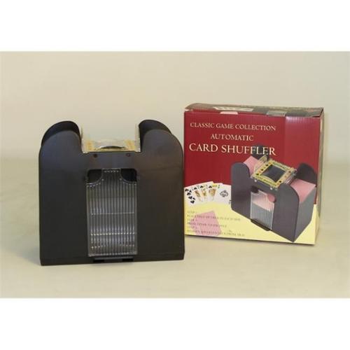 John Hansen Co.  32236 6-Deck Battery Card Shuffler - Battery Card Shuffler