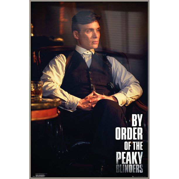 Peaky Blinders - Framed TV Show Poster (Thomas Shelby - by ...