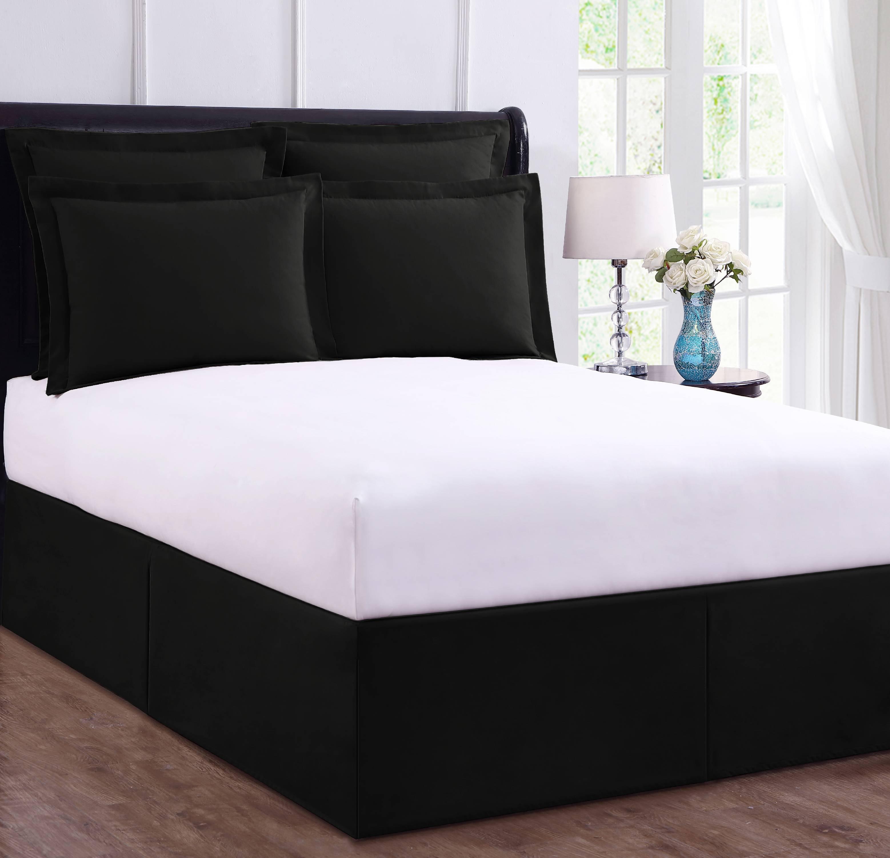 Bed Maker S Wrap Around Tailored Bedding Bed Skirt Walmart Com Walmart Com