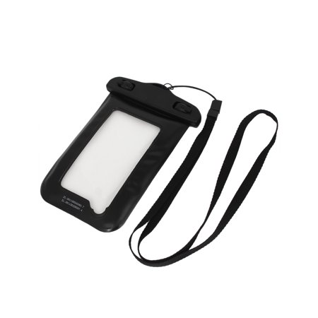 Waterproof Bag Holder Pouch Case Black forw Neck Strap - image 1 of 3
