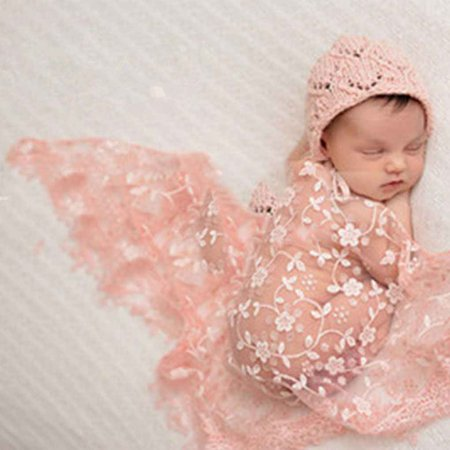 2019 Hot Sale Embroidery Lace Baby Photography Props Newborn Photography Wraps Blanket Wraps Lace Scarf Baby Photo Props](Blanket Embroidery)