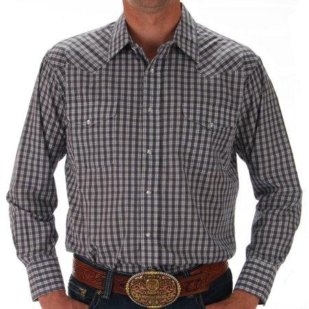 Panhandle Western Shirts (Panhandle Mens  Plaid Snap Shirt )