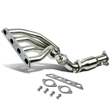 Mini Cooper Performance Exhaust - For 02-08 Mini Cooper R50 / R53 Stainless Steel Racing Exhaust Maniford Header + Delete Pipe 03 04 05 06 07